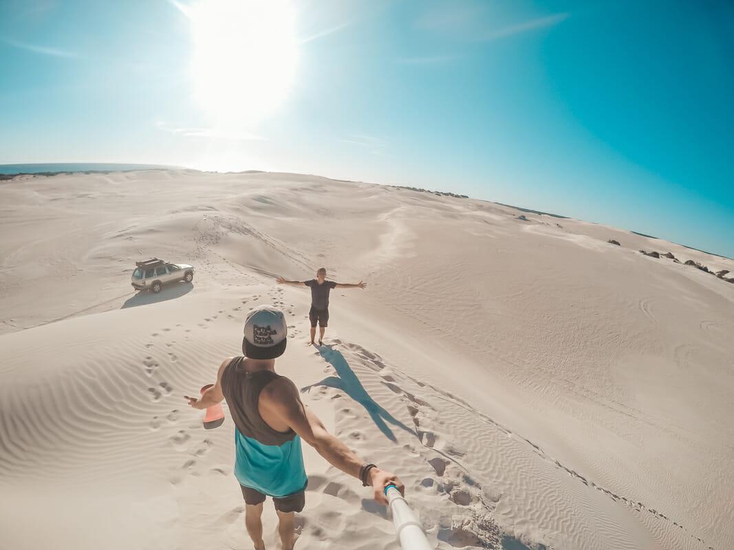 cote ouest australie dunes