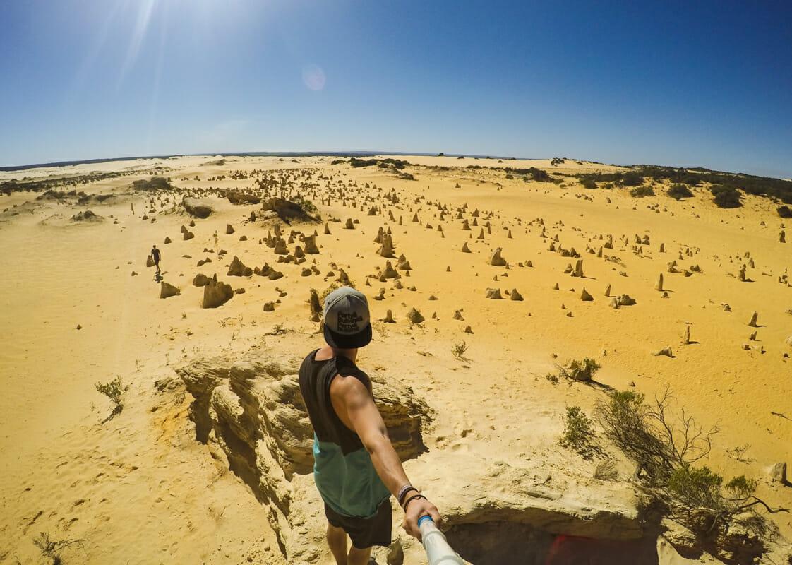 cote ouest australie itineraire pinnacles