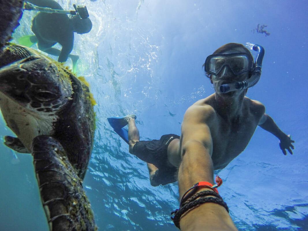 snorkelling cote ouest australie