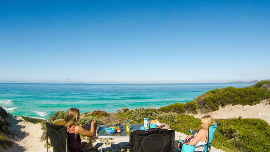 esperance australie camping