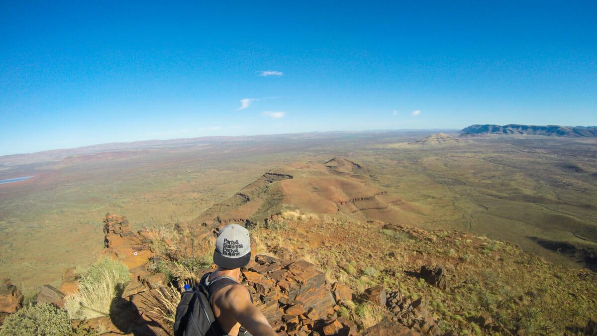 Mont Bruce Karijini Ouest australie