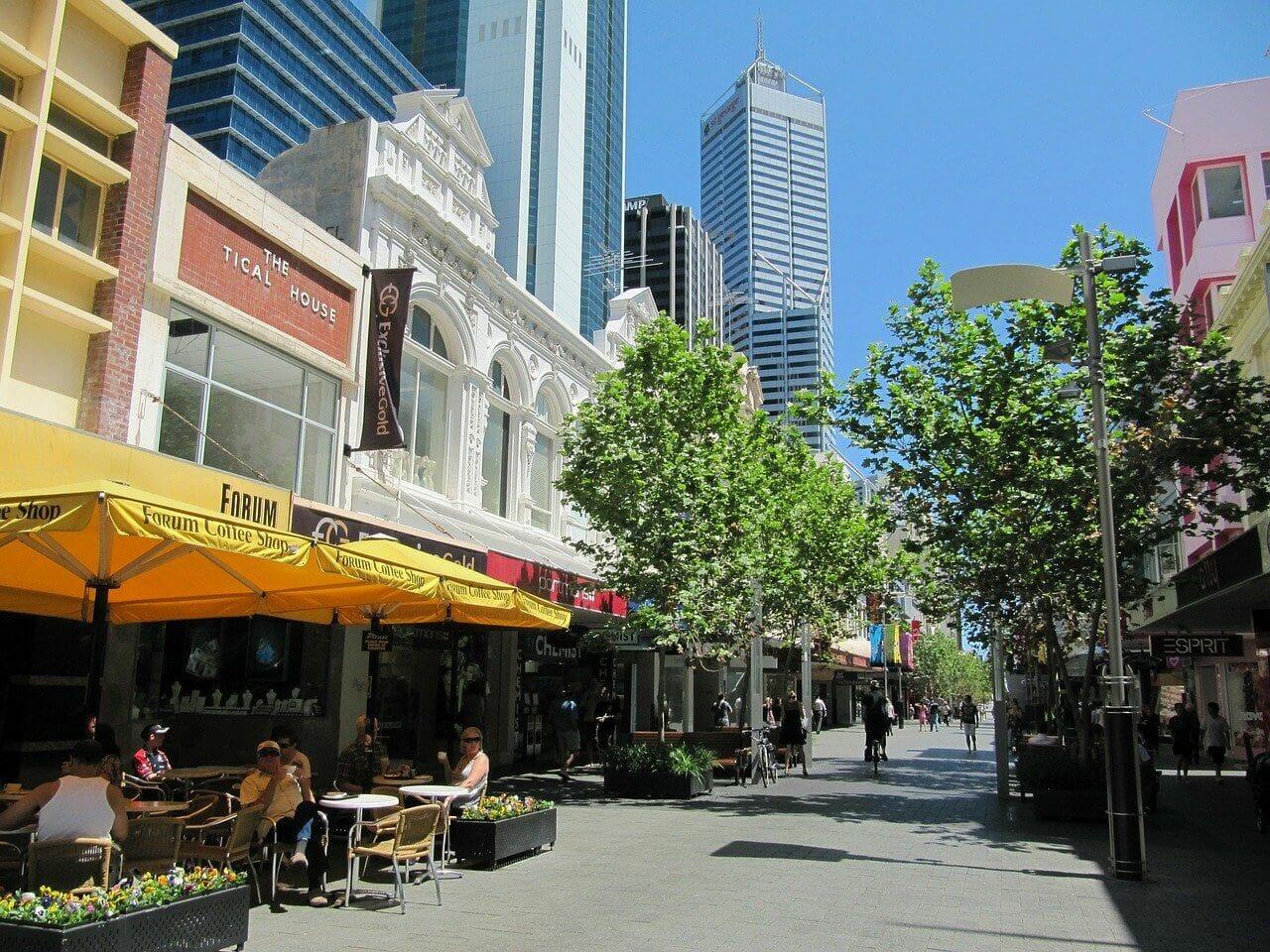 Perth australie paysage