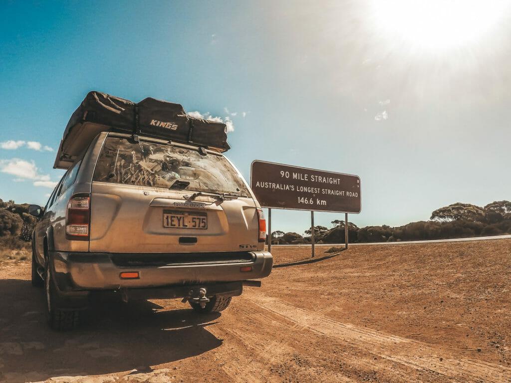 Route la plus longue en Australie