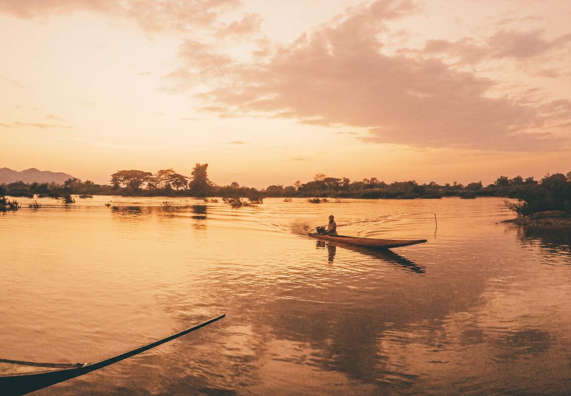 Itineraire Laos Don Det