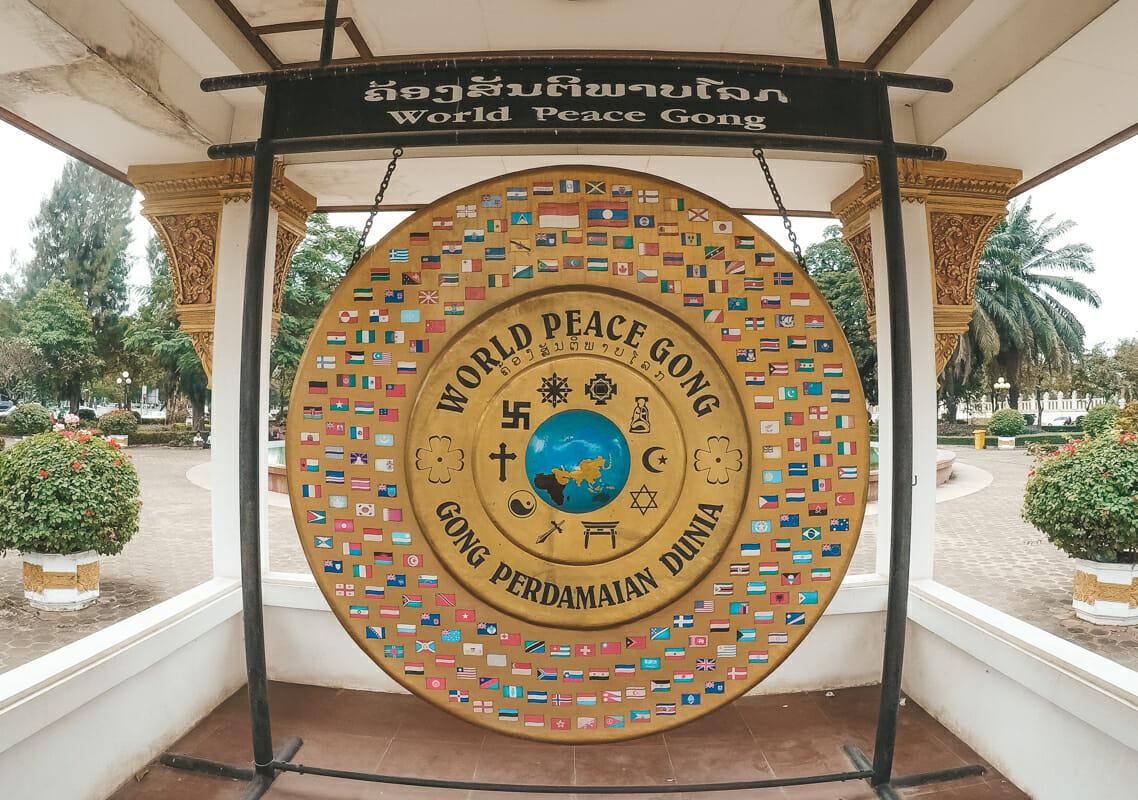 Itineraire Laos Vientiane