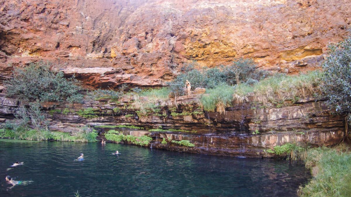 Natural pool Karijini