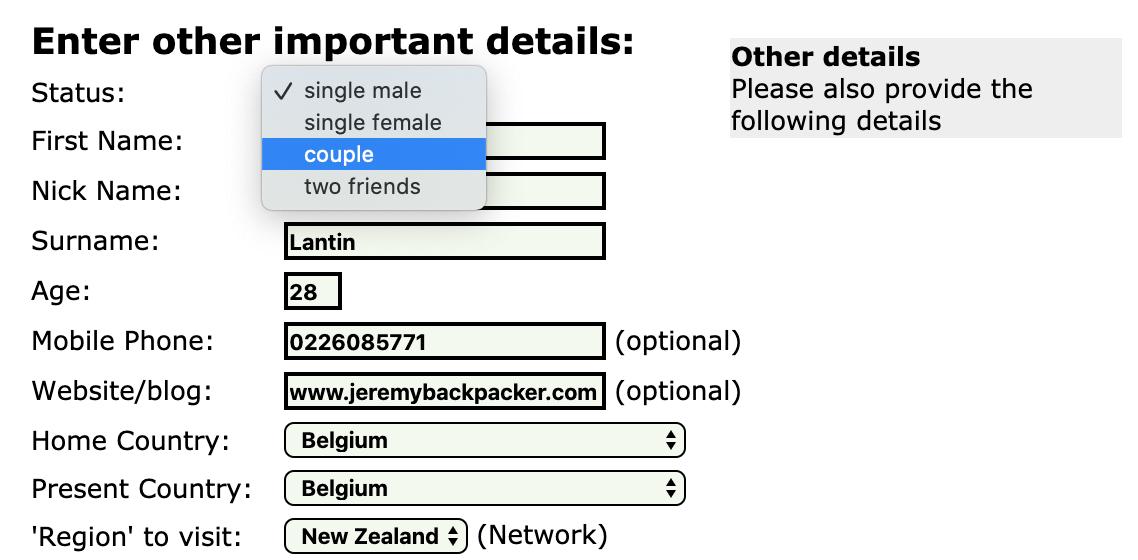 helpx australie plateforme