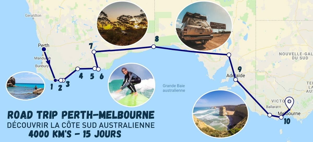 road-trip-perth-melbourne-itineraire