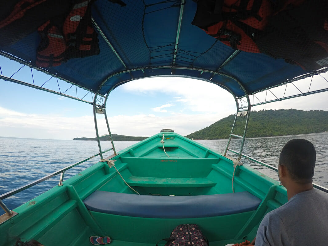 îles perhentian malaisie bateau