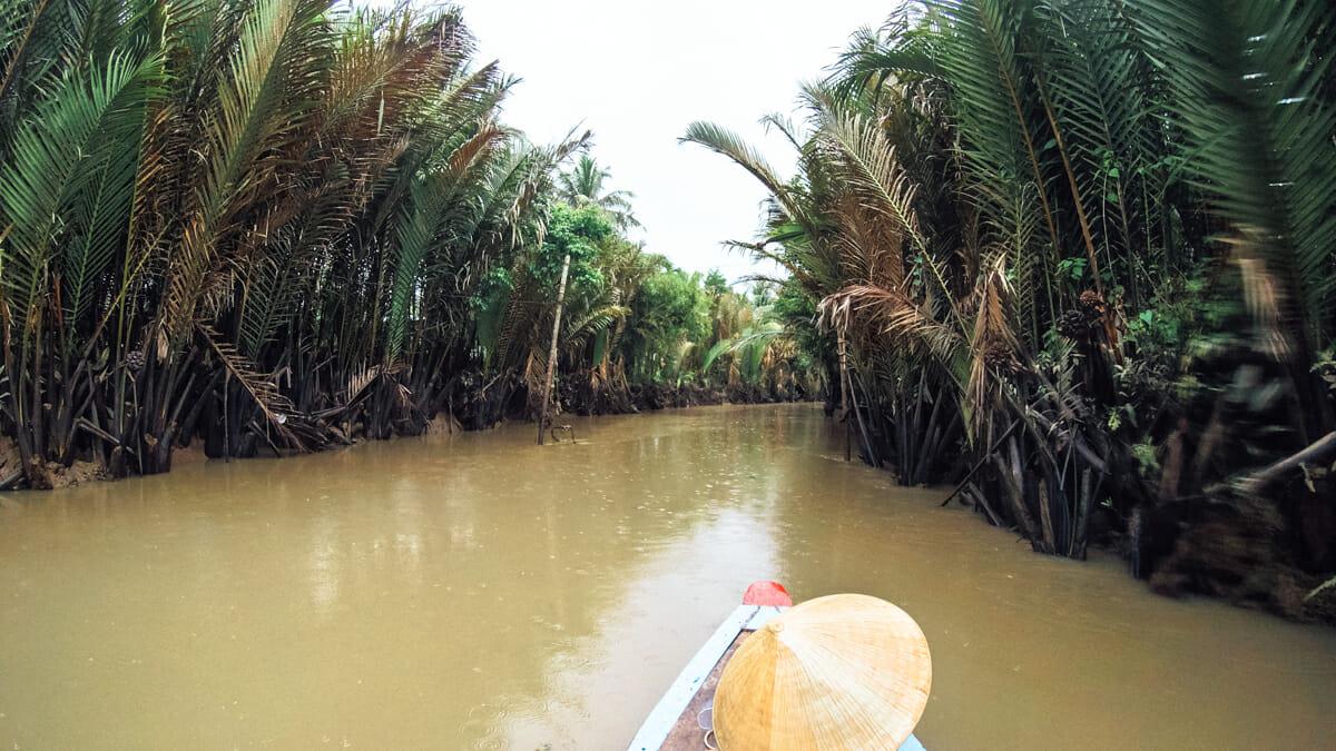 Rivière Delta du mekong