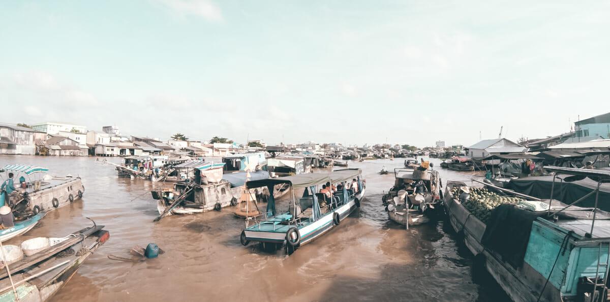 Cai Rang marché flottant mekong