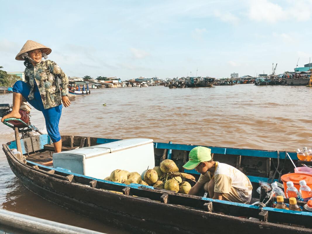 le delta du mekong cai rang
