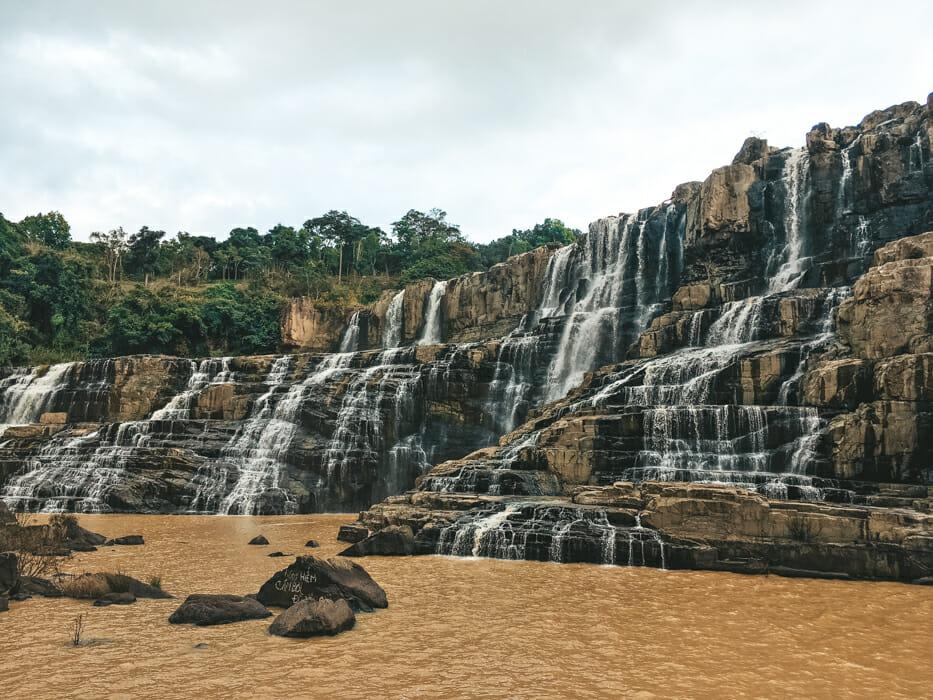 pongour falls dalat vietnam