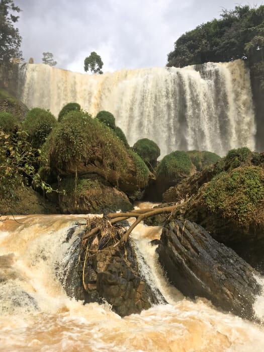 que faire a dalat vietnam elephant falls