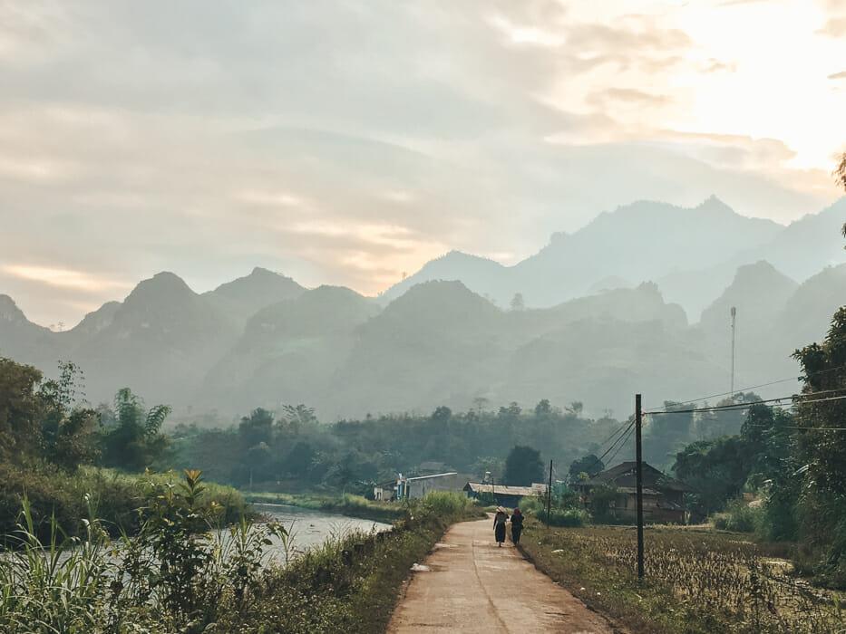 nord vietnam ha giang Du gia