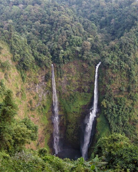Tad Fane itinéraire Laos