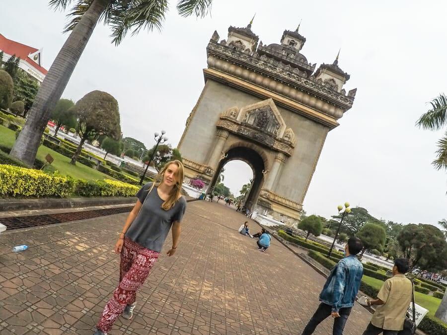 Vientiane itineraire Laos