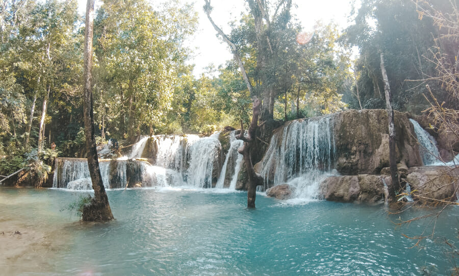 Tad Sae cascade luang prabang Laos