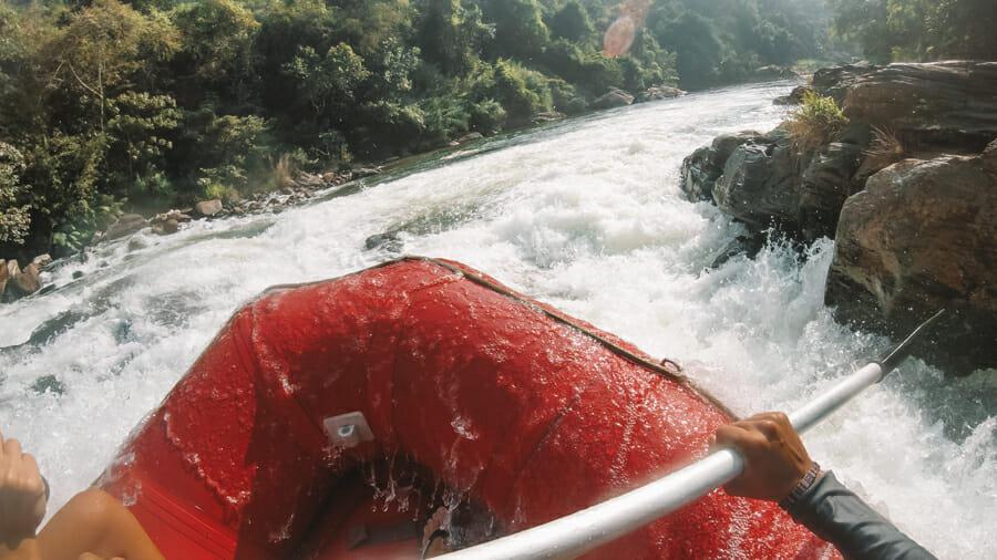 quand partir au sri lanka rafting