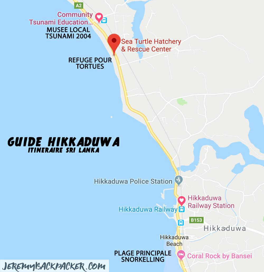 itineraire-sri-lanka-hikkaduwa-carte