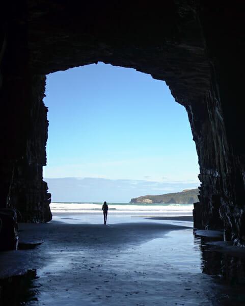 itineraire nouvelle zelande cave