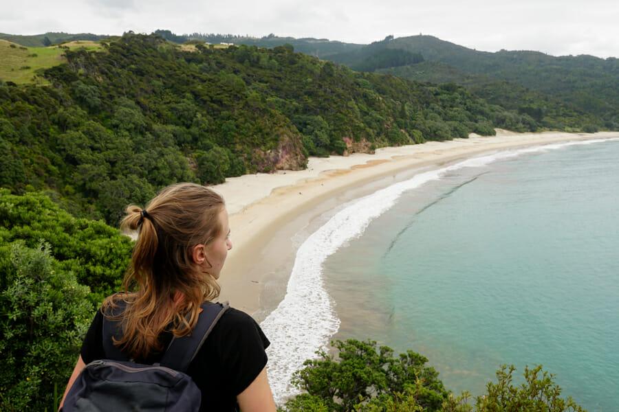 itineraire nouvelle zelande coromandel chun beach