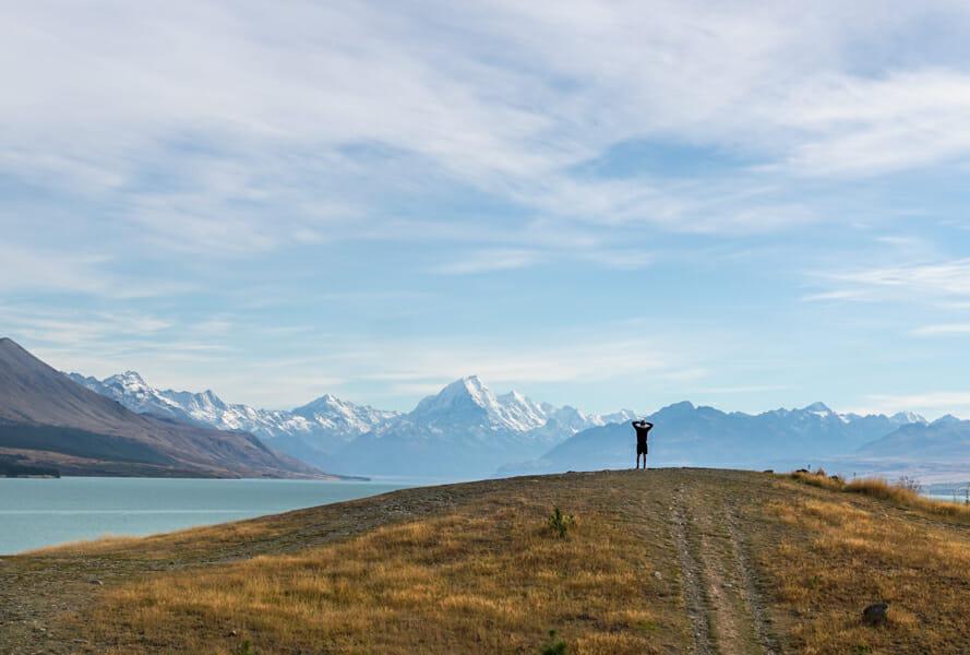 itineraire nouvelle zelande lac pukaki