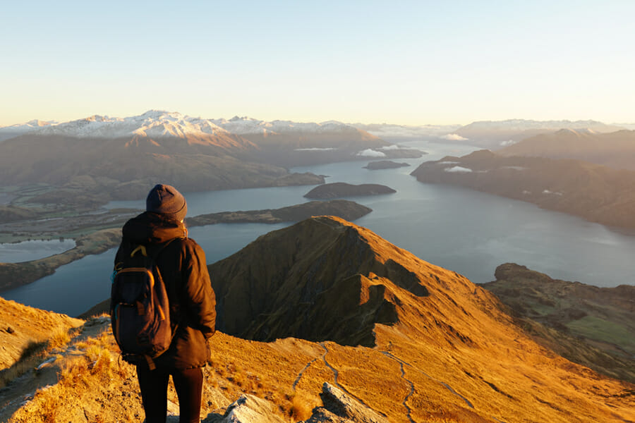 itineraire nouvelle zelande roys peak wanaka