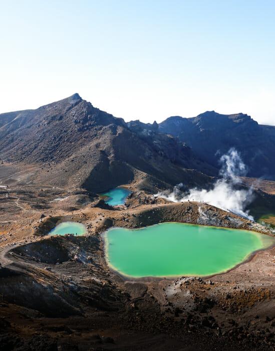itineraire nouvelle zelande tongariro alpine