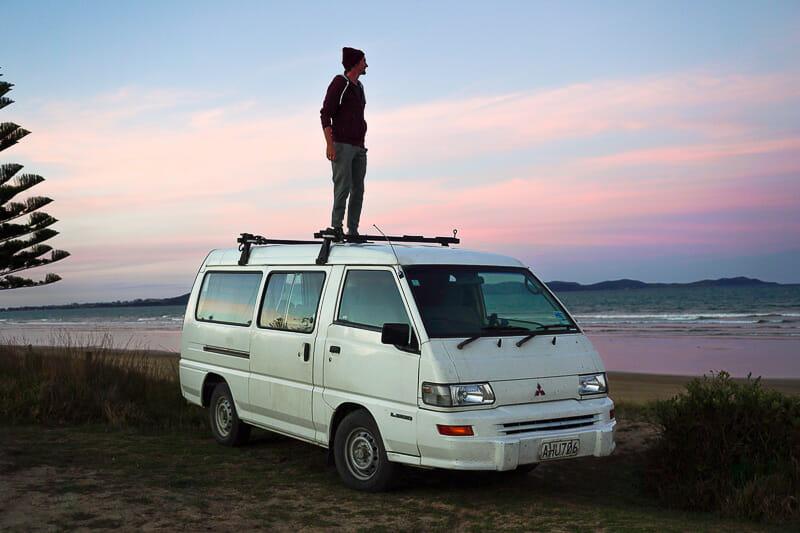 acheter un van en nouvelle zelande road trip