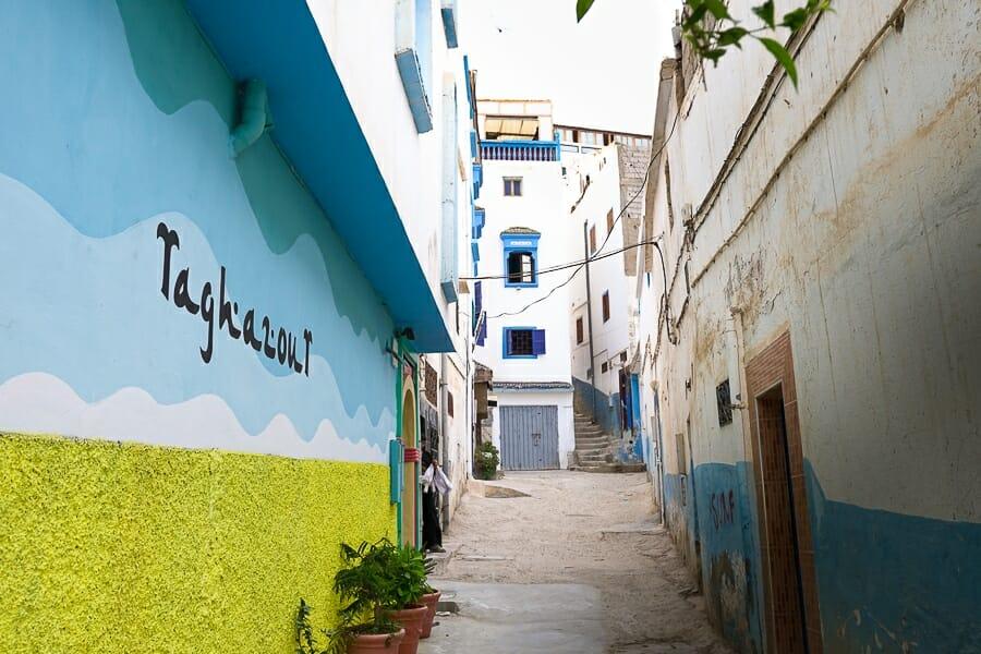 taghazout maroc guide village