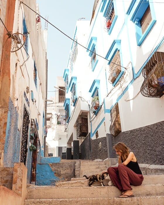 village taghazout maroc montagne