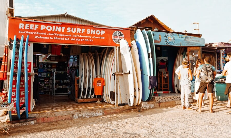 location surf imsouane maroc