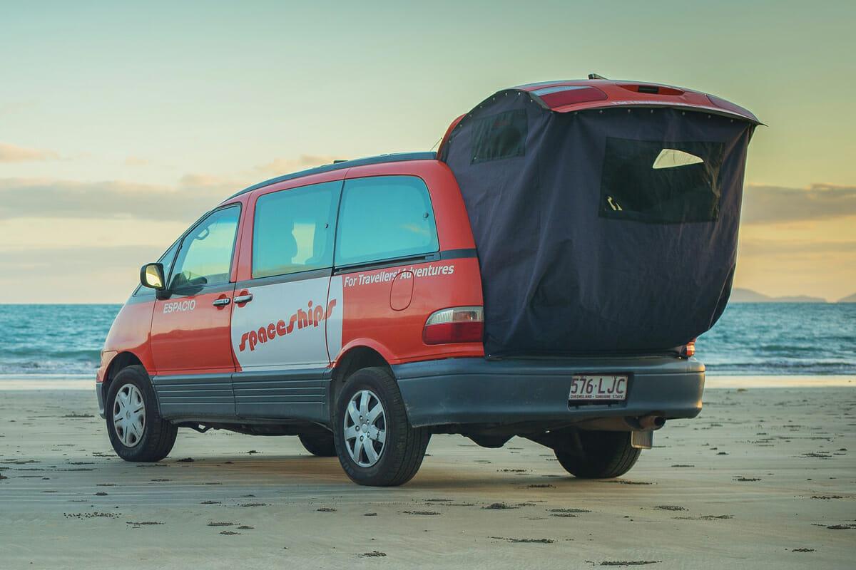 louer un van en australie spaceship