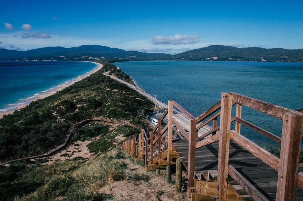 la tasmanie itineraire australie