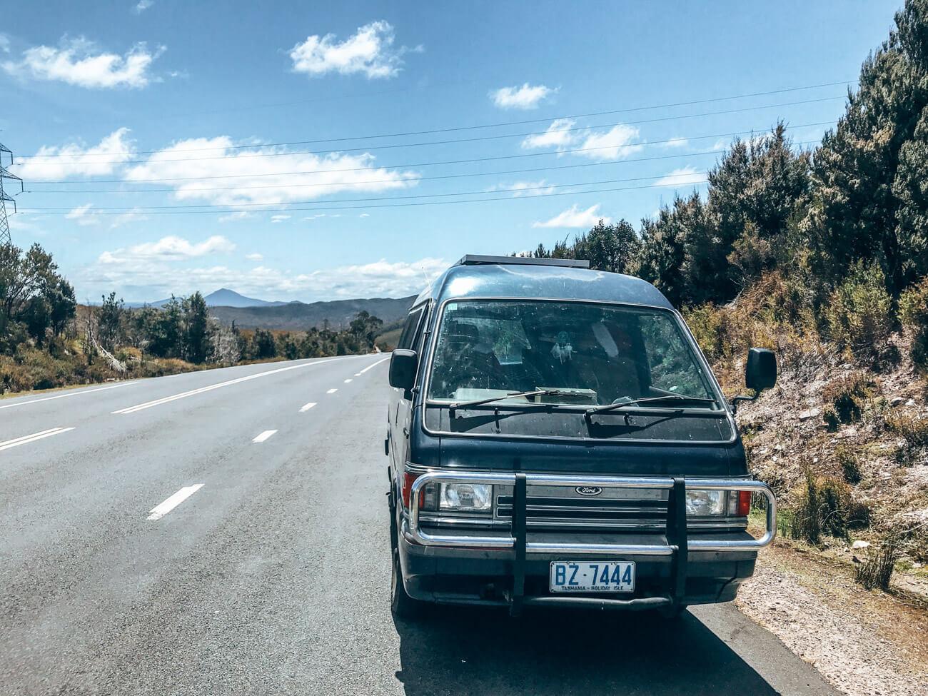 visiter la tasmanie en van